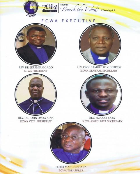 ECWA Executives 06-2014