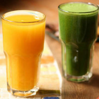 Raw juices contain biophotons, which will make your body healthier